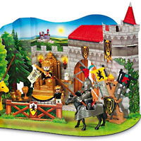 Playmobil Advent Calendar - Emperors Knights Tournament