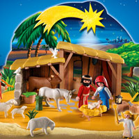 Playmobil Christmas - Nativity Manger with Stable