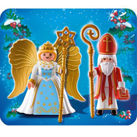 Playmobil Christmas - Saint Nicholas and Angel