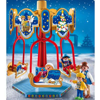 Playmobil Christmas - Sled Carousel