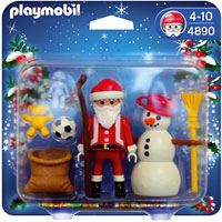 Playmobil Christmas - Santa Claus with Snowman