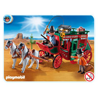 Playmobil Express Stagecoach