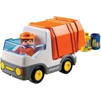 Playmobil 1,2,3 Recycling Truck