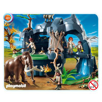 Playmobil Stone Age - Stone Age Cave with Mammoth