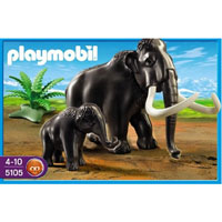 Playmobil Stone Age - Woolly Mammoth with Baby