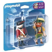 Playmobil Pirates - Pirate and Redcoat Soldier