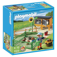Playmobil Farm - Bunny Hutch