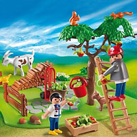 Playmobil Farm - Apple Harvest Compact Set