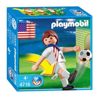 Playmobil Soccer Player - USA