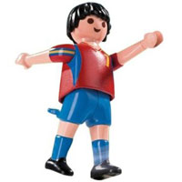 Playmobil Soccer Player - Spain