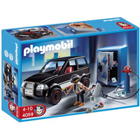 Playmobil Police - Thief with Safe and Getaway Car