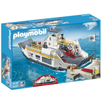 Playmobil Harbor - Car Ferry with Pier