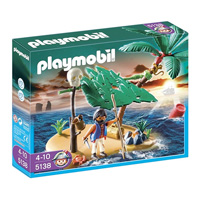 Playmobil Pirates - Cast Away on Palm Island
