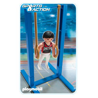 Playmobil Collect & Play Sport - Gymnast on Rings