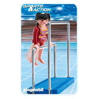 Playmobil Collect & Play Sport - Gymnast on Parallel Bars