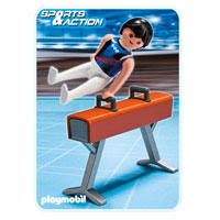 Playmobil Collect & Play Sport - Gymnast on Pommel Horse
