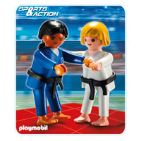 Playmobil Collect & Play Sport - 2 Judo Competitors