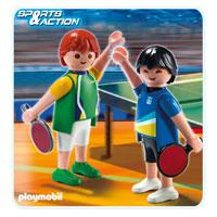Playmobil Collect & Play Sport - 2 Table Tennis Players