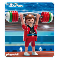 Playmobil Collect & Play Sport - Weight Lifter