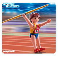 Playmobil Collect & Play Sport - Javelin Thrower