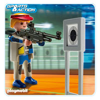 Playmobil Collect & Play Sport - Target Shooter