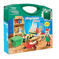 Playmobil Carrying Case Santas Workshop