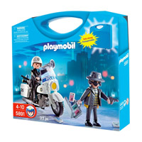 Playmobil Carrying Case Police