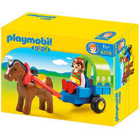 Playmobil 1,2,3 Pony Wagon