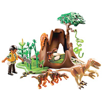 Playmobil Dinosaurs - Deinonychus and Velociraptors