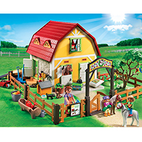 Playmobil Pony Ranch - Children's Pony Farm