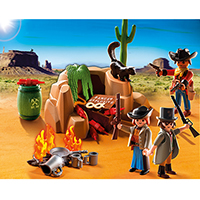 Playmobil Western - Outlaw Hideout