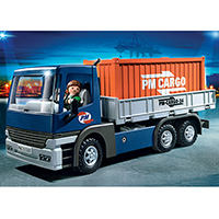 Playmobil City Action - Cargo Truck with Container