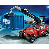 Playmobil City Action - Cargo Transporter with Container