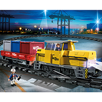 Playmobil City Action - RC Freight Train