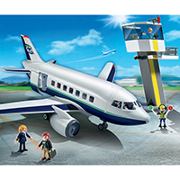 Playmobil City Action - Cargo and Passenger Aircraft