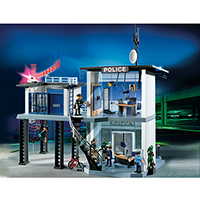 Playmobil Police - Police Station with Alarm System