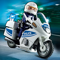 Playmobil Police - Police Motorcycle