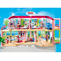 Playmobil Hotel - Large Furnished Hotel