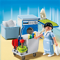 Playmobil Hotel - Housekeeping Service