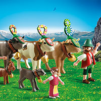 Playmobil Mountain Life - Alpine Festival Procession