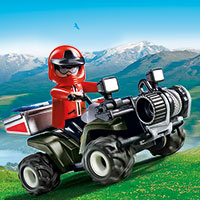 Playmobil Mountain Life - Mountain Rescue Quad
