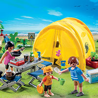 Playmobil Camping - Family Camping Trip