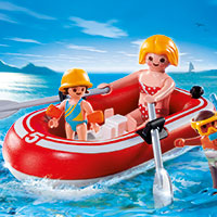 Playmobil Camping - Swimmers with Raft
