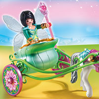 Playmobil Fairies - Unicorn Carriage with Butterfly Fairy