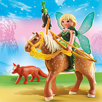 Playmobil Fairies - Forest Fairy Diana with Horse