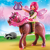 Playmobil Fairies - Forest Fairy Surya with Horse