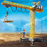 Playmobil Construction - Great Building Crane with IR-Remote Control