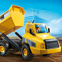 Playmobil Construction - Industrial Dump Truck