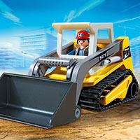 Playmobil Construction - Compact Excavator