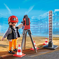 Playmobil Construction - Surveyor